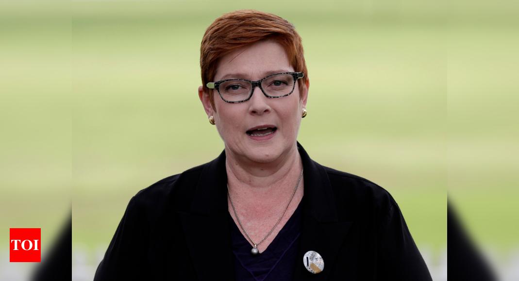 India travel ban not racist: Australian FM Marise Payne