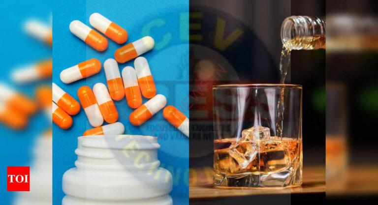 Why one must not drink alcohol when on antibiotics