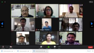 Read more about the article Kurukshetra University and TERii Kurukshetra jointly organized Webinar on Role & Responsibilities of Stakeholders amidst COVID-19 second strain