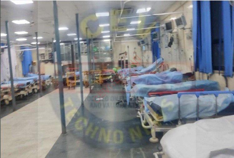 Coronavirus 20 Oxygen Beds Empty In Emergency Of Gtb Hospital Doctor Says Today Is Day Full Of Happiness – बड़ी राहत: जीटीबी की इमरजेंसी में 20 ऑक्सीजन बेड खाली, डॉक्टर बोले- आज का दिन सबसे ज्यादा खुशियों से भरा