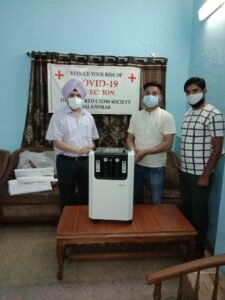 Read more about the article OXYGEN CONCENTRATOR BANK BREATHES LIFE TO 105 PEOPLE DAILY FIVE PERSON AVAIL SERVICES OF BANK BANK SERVES APPLICANTS FROM KAPURTHALA, HOSHIARPUR, PHAGWARA AND MOGA – DC GHANSHYAM THORI