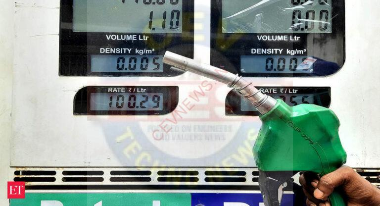 Petrol price goes up on Saturday, diesel rate remains unchanged