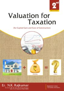 Read more about the article BOOK REVIEW VALUATION FOR TAXATION (For Capital Gains & Cost of Construction) A Unique & Exclusive book for Tax Valuation with 48 case studies