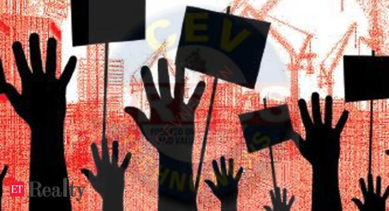 Residents of CMC Colony protest bid to evict them for flyover work, Real Estate News, ET RealEstate