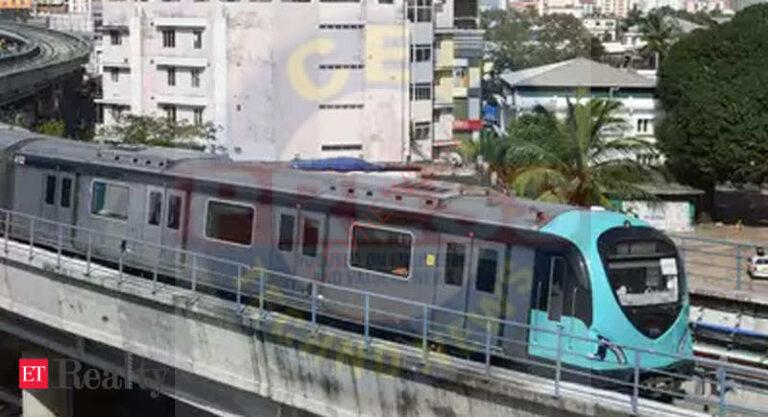 Land acquisition for Kochi Metro extension by August 31, Real Estate News, ET RealEstate