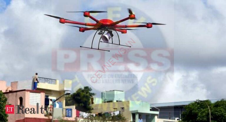 Prime minister reviews lighthouse projects across the country via drones, Real Estate News, ET RealEstate