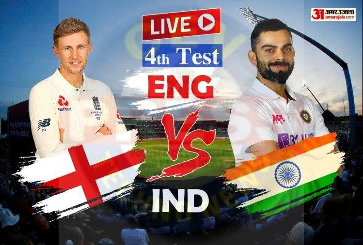 Read more about the article Ind Vs Eng Live Cricket Score 4th Test Day 1 Scorecard News Updates – Ind Vs Eng Live Score: एक ही ओवर में बुमराह ने झटके दो विकेट, बर्न्स के बाद हमीद को भेजा पवेलियन